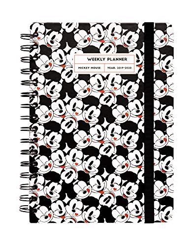 Agenda escolar 2019/2020 A5 12 meses Semana Vista Mickey Mouse