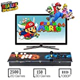 MYMIQEY Pandora Treasure II Arcade Game Console, 2650 Retro HD Games, Search/Save/Hide/Delete Games, Add More Games, 1920x1080 Full HD, Support Multiplayers Online, 2 Player Game Controls