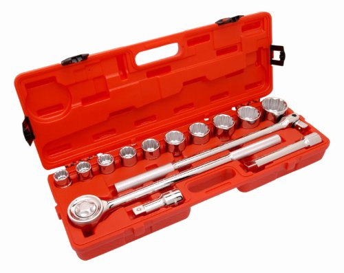Crescent CTK14ME 3/4-Inch Metric Mechanics Tool Set, 14-Piece