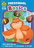 School Zone - Preschool Basics Workbook - 64 Pages, Ages 3 to 5, Colors, Numbers, Counting, Matching, Classifying, Beginning Sounds, and More (School Zone Basics Workbook Series)