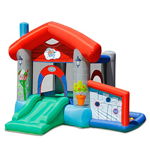ACTION AIR Bounce House Jumping Castle with Slider with 30 Ball