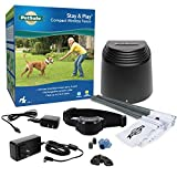 PetSafe Stay & Play Compact Wireless Fence – No Wire to Bury – Our Smallest Transmitter – Covers 3/4-Acre – For Dogs 5 lbs & Up – Rechargeable Collar – From the Parent Company of INVISIBLE FENCE Brand