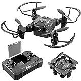 4DRC V2 Foldable Mini Nano Drone for Kids Toys Gift,Pocket RC Quadcopter with 3 Batteries,Altitude Hold, Headless Mode, 3D Flips, One Key Return, 3 Speed Modes, Easy Fly for Beginners Boys Girls