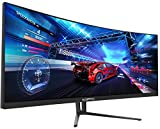 Sceptre C355W-3440UN 35 Inch Super Curved Ultrawide 21: 9 LED Creative Monitor QHD 3440x1440 Frameless AMD Freesync HDMI DisplayPort Up to 100Hz, Machine Black 2020