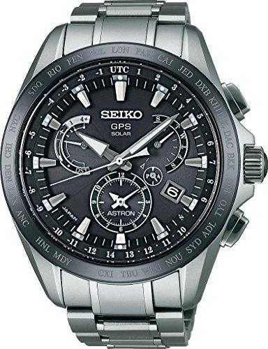 Seiko Herren-Armbanduhr Chronograph Quarz Keramik SSE045J1
