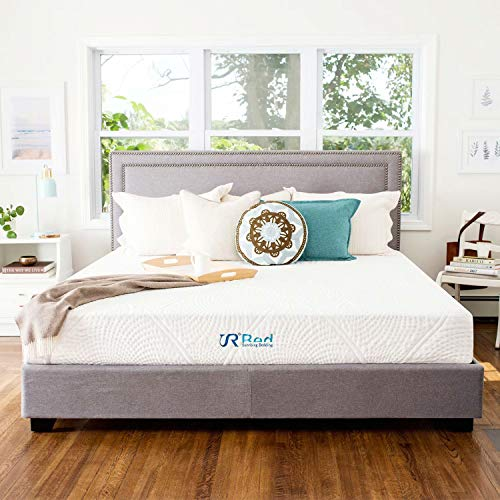 Sunrising Bedding 12' Gel Memory Foam Mattress in a Box Twin Size, Firm, No Harmful Chemicals, No Fiberglass, Adjustable Bed Frame Compatible