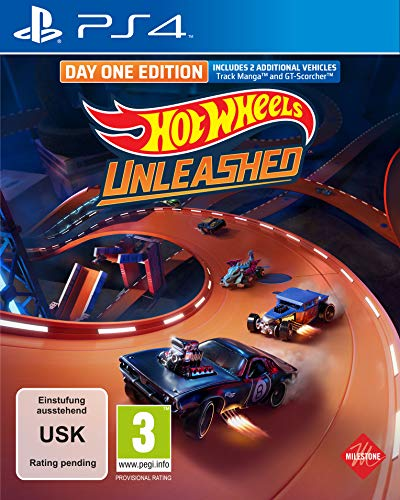 Hot Wheels Unleashed Day One Edition (Playstation 4)