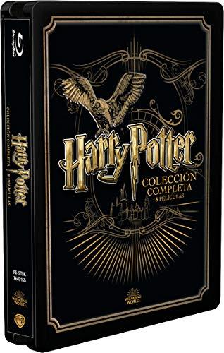 Pack Harry Potter Colección Completa - Edición Golden Steelbook [Blu-ray]