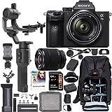 Sony a7III Full Frame Mirrorless Camera + FE 28-70mm F3.5-5.6 Lens ILCE-7M3K/B Filmmaker's Kit with...