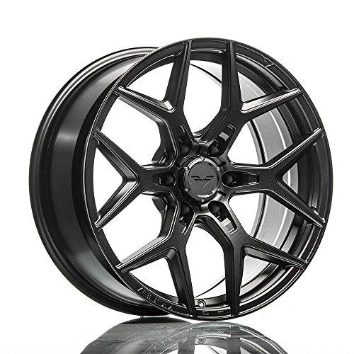 20' Vorsteiner Venom Rex 601 Graphite Concave Wheels Rims Only Set Of 4 Includes Vibe Motorsports License Plate Frames Fits Ford Raptor