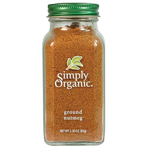 Simply Organic Ground Nutmeg, Certified Organic | 2.3 oz | Myristica fragrans Houtt.