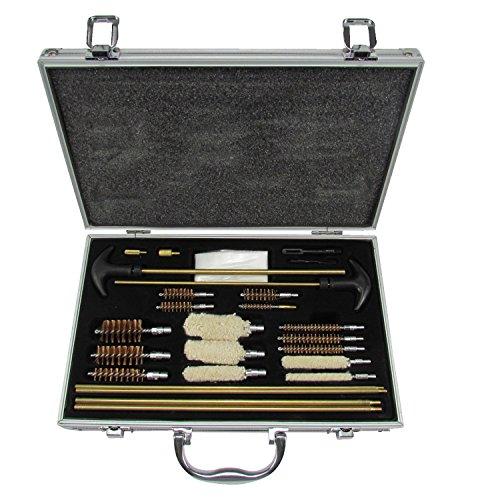 Tourbon Kit de nettoyage universel multi-usages en aluminium pour pistolets, fusils de chasse