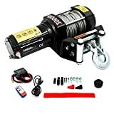 Wild Bear 12V 3000LBS /1361kg Electric Winch Steel Cable Tools Fit Car ATV UTV (3000)
