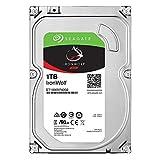 "Seagate IronWolf 3.5"" データ復旧3年付 1TB 内蔵HDD(CMR) 3年保証 6Gb/s 64MB 5900rpm 24時間稼動 PC NAS向け ST1000VN002"