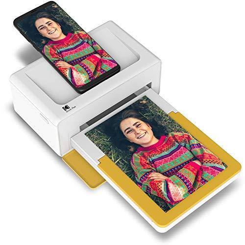 KODAK PD460 Stampante fotografica 10 x 15 cm Bluetooth & Docking Bianco & Giallo