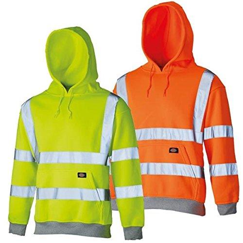 Dickies Hochsichtbares Kapuzen-Sweatshirt Warnschutz SA22090, Größe:XL,...