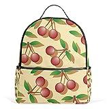 Backpack Cute Cherry Womens Laptop Backpacks School Hiking Travel Daypack