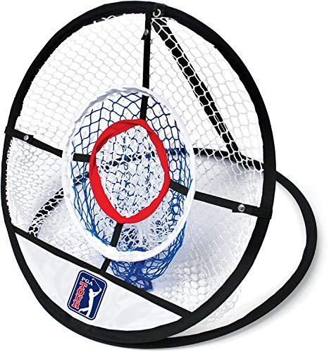 PGA Tour Perfect Touch Chipping Netz, Blau und Grün, 28,5x3,2x28,5 cm