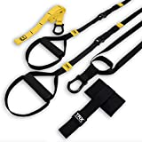 TRX GO Suspension Trainer System (Black): Lightweight & Portable  Full Body Workouts, All Levels & All Goals  Includes Get Started Poster, 2 Workout Guides & Indoor/Outdoor Anchors
