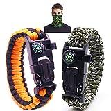 BingYouMi Bracelet Paracorde Survie pour Homme...