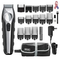 Wahl Lithium Ion Total Beard Trimmer, Facial Hair clippers with 13 Guide Combs for Easy Trimming,...