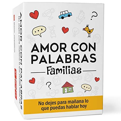 AMOR CON PALABRAS - Familias 👨👩👧👦 | Juegos de Mesa para niños y Adultos Que fortalecen los vínculos Familiares creando Conversaciones de Calidad.