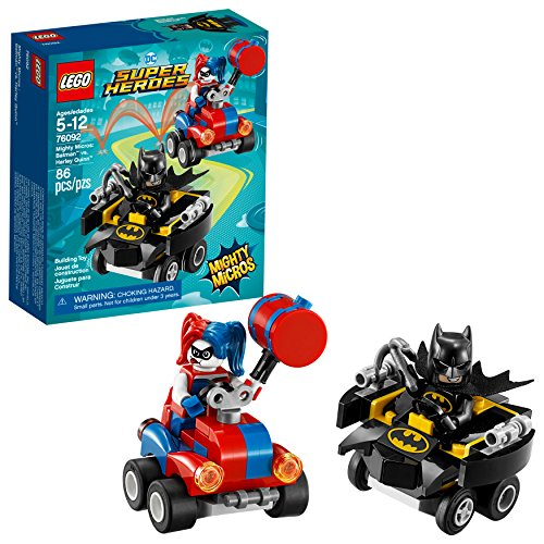 LEGO DC Super Heroes Mighty Micros: Batman vs. Harley Quinn 76092 Building Kit (86 Piece)