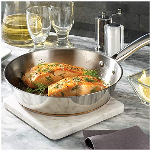Product Image 3: T-fal C836SD Ultimate Stainless Steel Copper Bottom 13 PC Cookware Set, Piece, Silver
