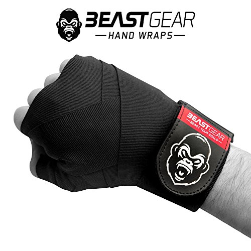 Beast Gear Bendaggi Boxe avanzati – Fasce Boxe di qualità Professionali per Sport di...