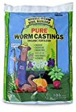 Worm Castings Organic Fertilizer, Wiggle Worm Soil Builder, 15-Pounds, (Package May Vary)
