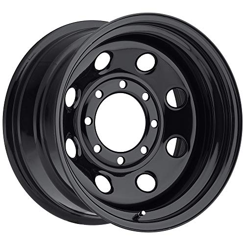 Pacer 297B SOFT 8 BLACK Black Wheel (16x8'/8x6.5', 0mm Offset)