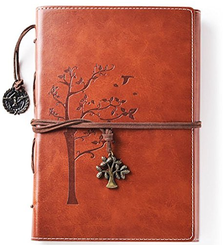 Valery Journal intime vintage, cahier rechargeable, carnet de notes &...