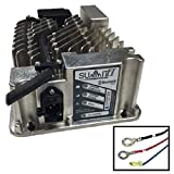 Lester Summit Series II Battery Charger 650W 36/48V, 5/16-in Ring Terminals with QD Lockout, 6 Ft.