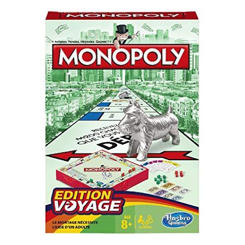 Monopoly - Jeu de societe de Voyage - Version française