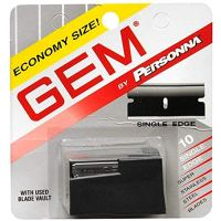 Gem Super Stainless Steel Single Edge Blades 10 Each (Pack of 2)