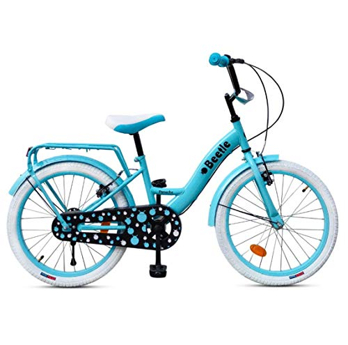 Beetle Panache 20T Kids Cycle for 6 to 10 Year olds, Turquoise Blue