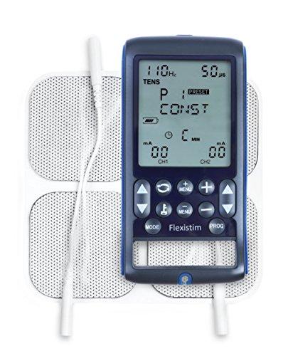 Flexistim – Completo electroestimulador. EMS, TENS, IFT y Microcorriente.