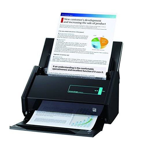 Fujitsu ScanSnap iX500 | Voor enkel- en dubbelzijdige documenten | Voor scannen van verschillende groottes zonder witruimte rondom