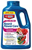 BayerAdvanced All-in-One Rose & Flower Care for Japanese Beetles, Aphids, Black Spot & Powdery Mildew 5 lbs Granules