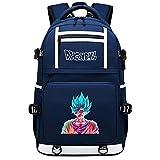 GOYING Dragon Ball Anime Mochilas Moda Viaje Mochila Informal Negocios Universidad USB Unisex-B