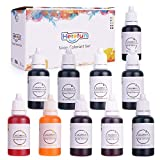 Herefun Colores de Jabón - 10 Colores x 20 ML Set, Jabón Fabricación Bomba de Baño Colores a...
