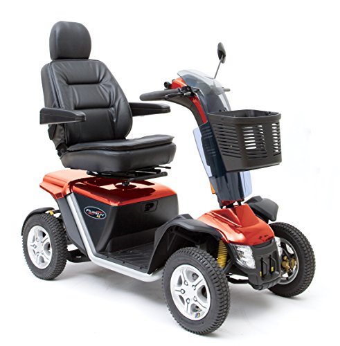 Pride Mobility Pursuit XL Scooter - Red - SC714