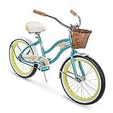 Huffy Panama Jack Beach Cruiser Bike , Pool Blue, 20 inch