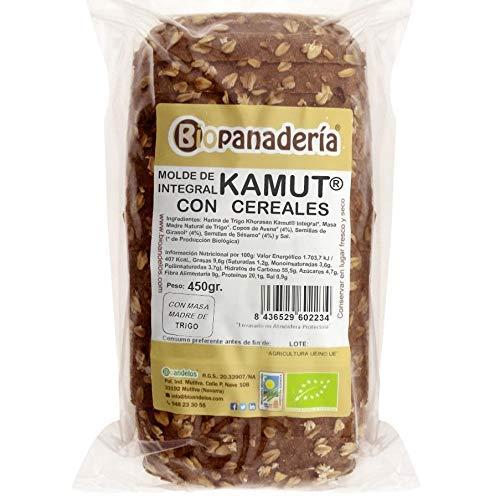 Biopanadería Pan de Molde de Trigo Khorasan Kamut Integral