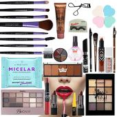 Ruby Rose Luisance Kit de maquillaje profesional con pinceles