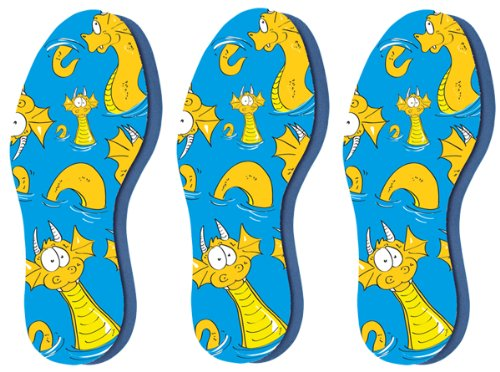 Pedag Kid's Soft Foam Insole, Little Kid Ch 12/13-EU 30/31, 3 Count