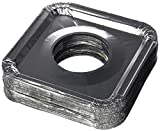 Aluminum Foil Square Gas Stove Burner Covers – Pack of 100 – Disposable Bib Liners for Kitchen...