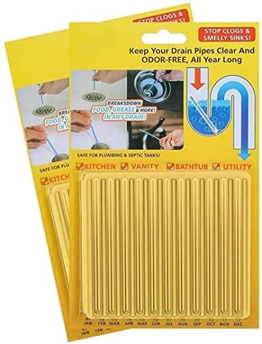 Sani Drain Sticks Cleaning Rod(Lemon)