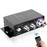 Amplificateur Bluetooth HiFi,DUTISON Mini Ampli Audio Stereo pour Voiture et...