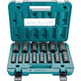 Makita A-96372 1/2' Drive Impact Socket Set (14 Piece)